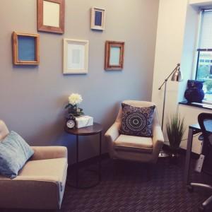 Salle de consultation du Centre de traitement de l'insomnie